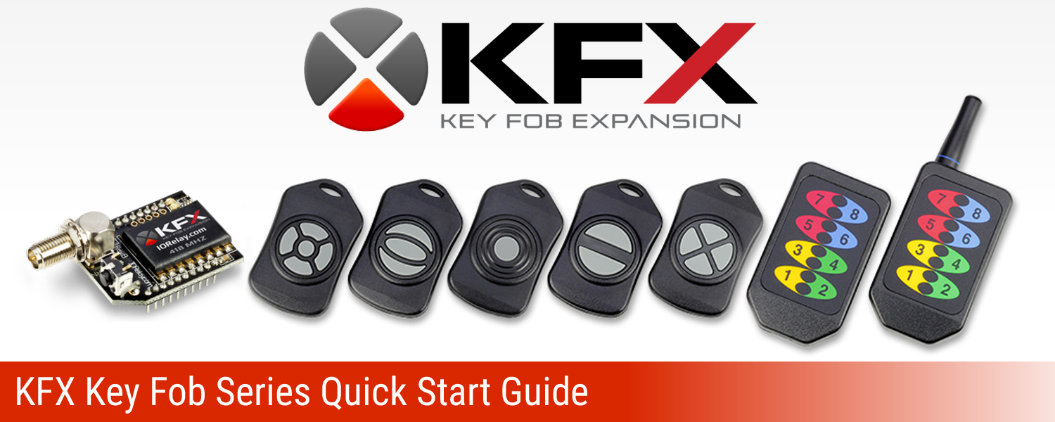 KFX Key Fob Communications Module Quick Start Guide