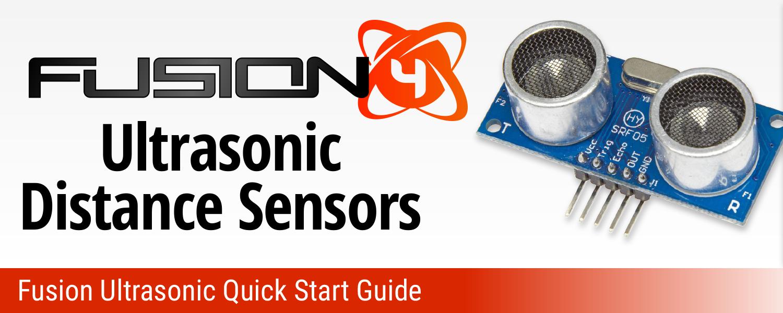Fusion Ultrasonic Quick Start Guide
