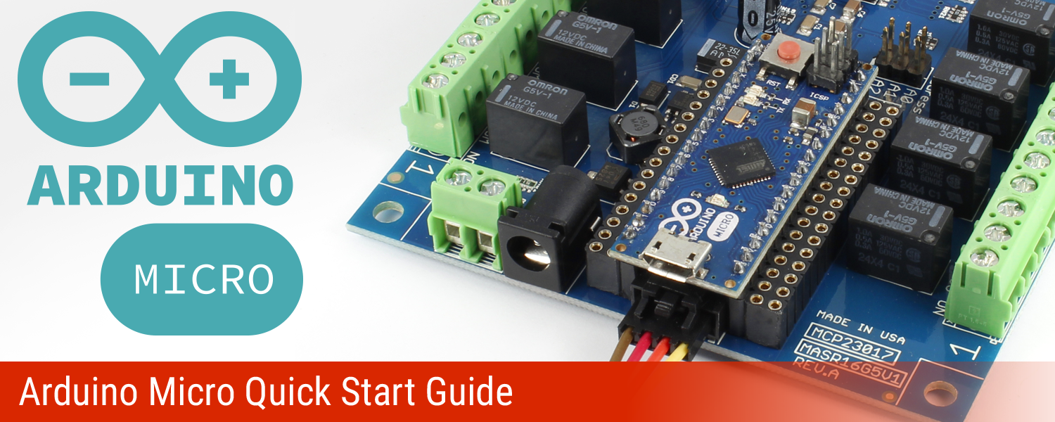 Arduino Micro Quick Start Guide