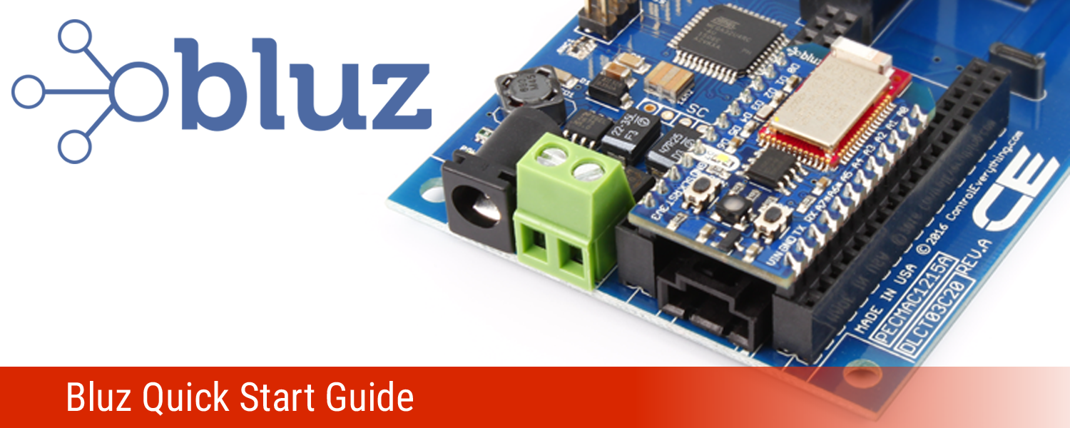 Bluz Quick Start Guide