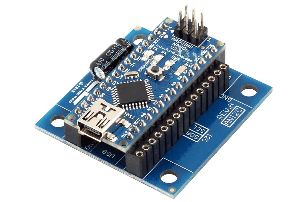 i2c shield arduino nano