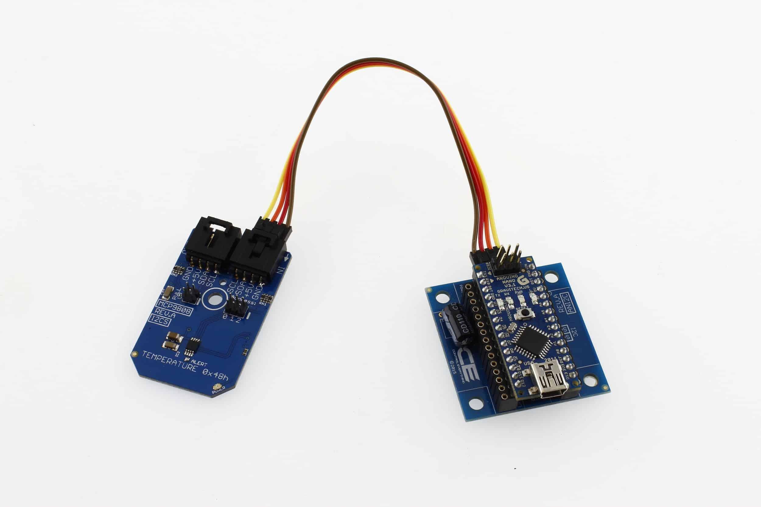 temperature sensor arduino nano