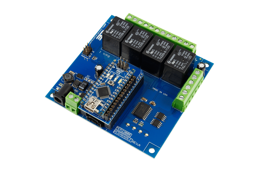 4 channel arduino relay board