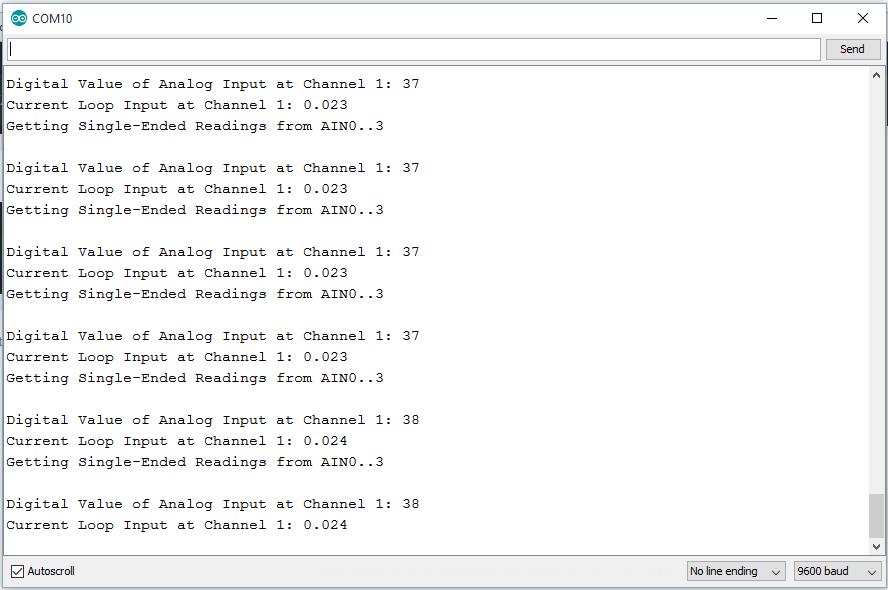4-20mA no current loop reciver
