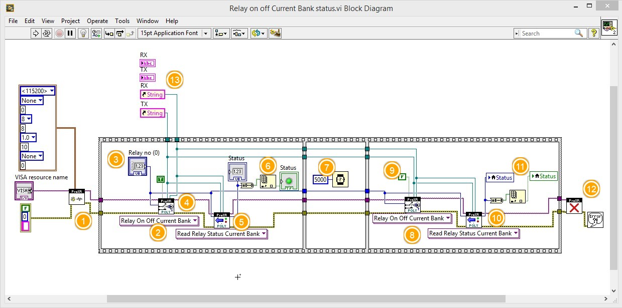 Labview relay switching and status acquisition 1 ncd details of steps is as under ccuart Choice Image