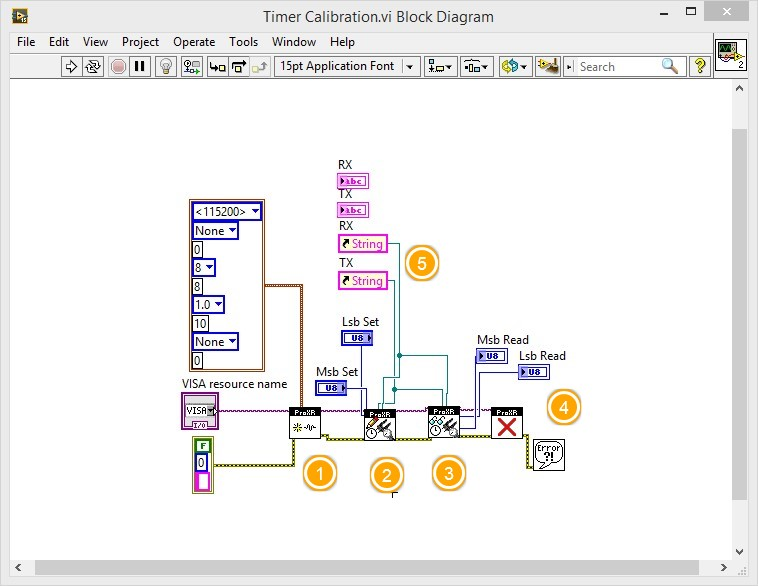 LabVIEW Relay Timer Operation