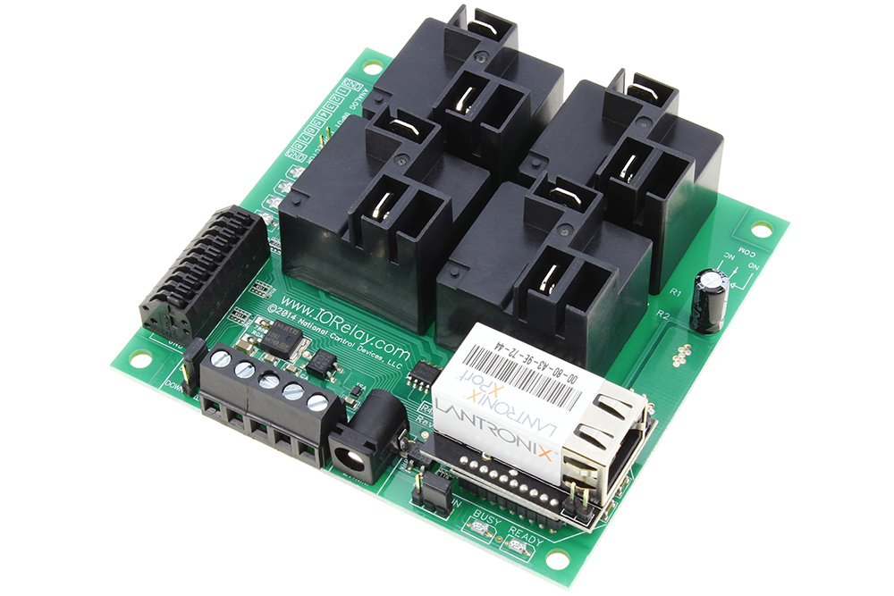 Ethernet Relay 4-Channel High-Current