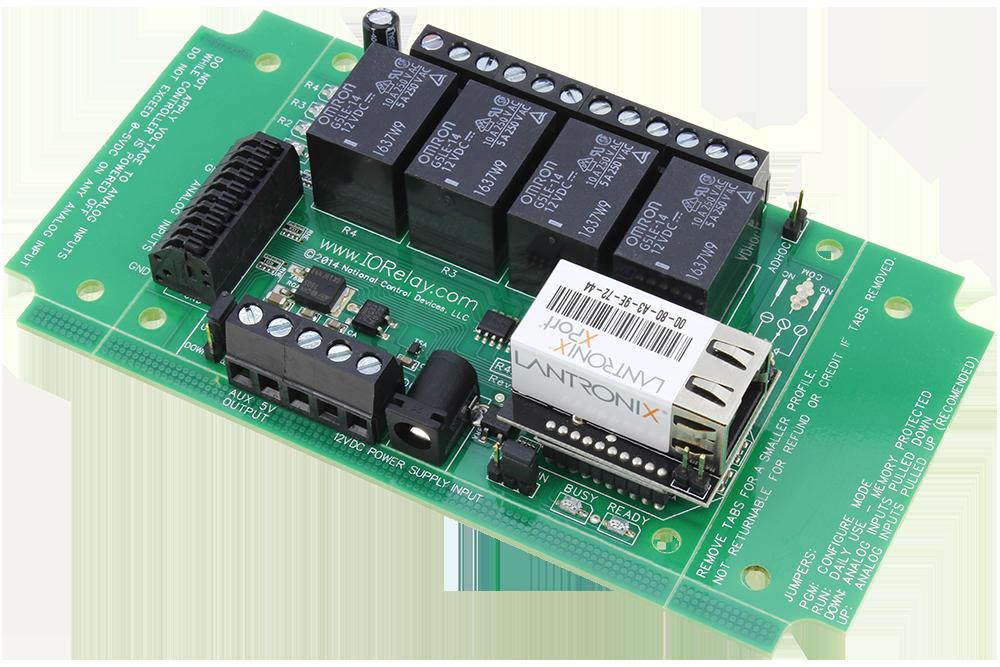 Ethernet Relay 4-Channel SPDT