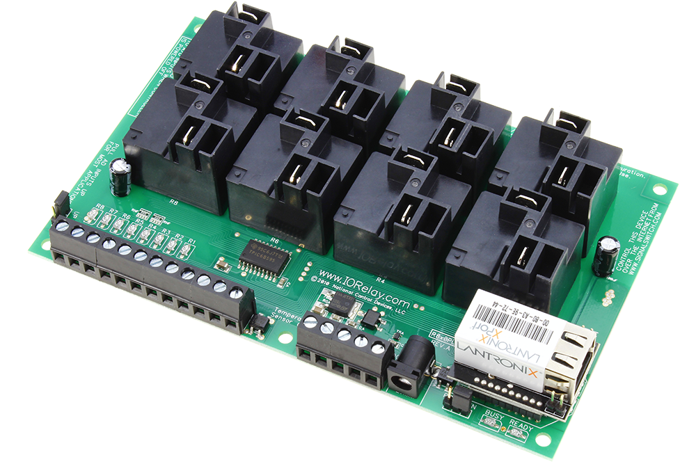 Ethernet Relay 8-Channel High-Current