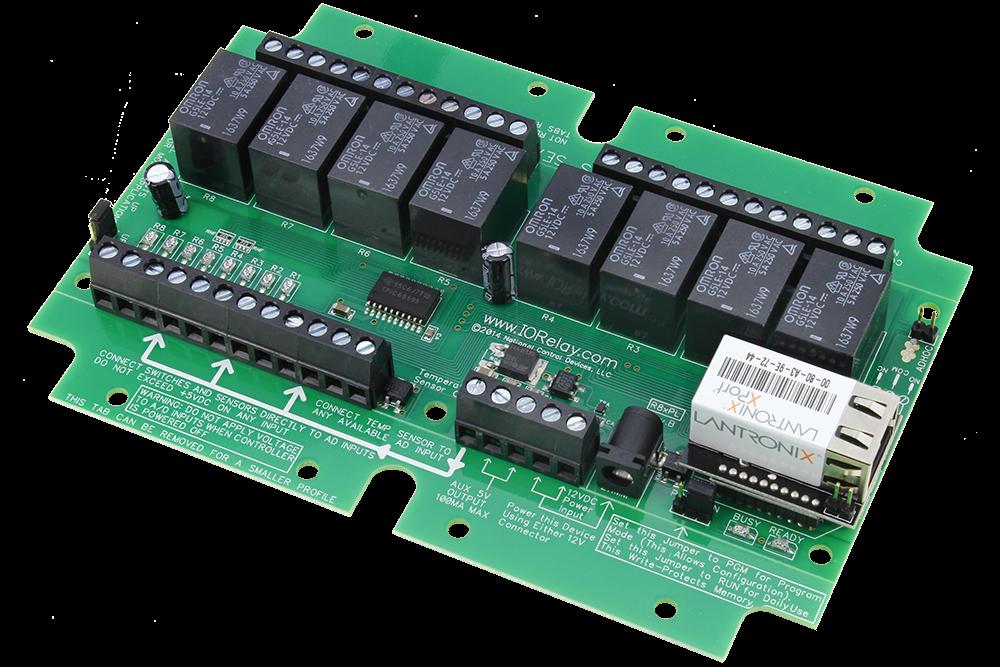 Ethernet Relay 8-Channel SPDT
