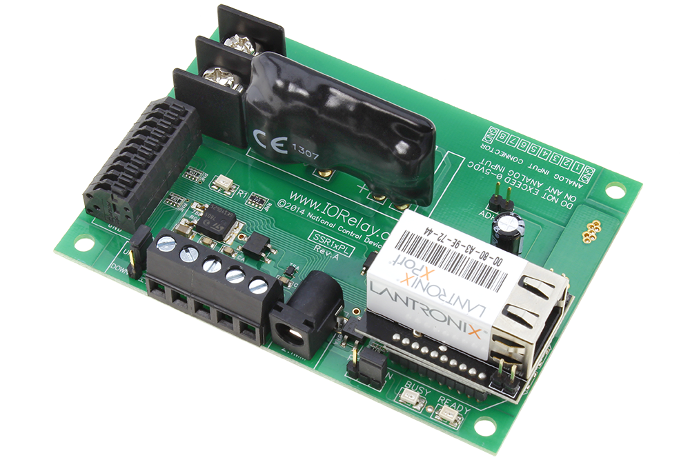 Ethernet Relay 1-Channel Solid State