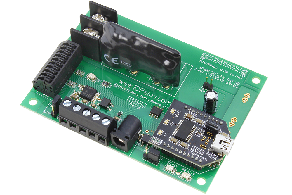 USB Solid State Relay Controller