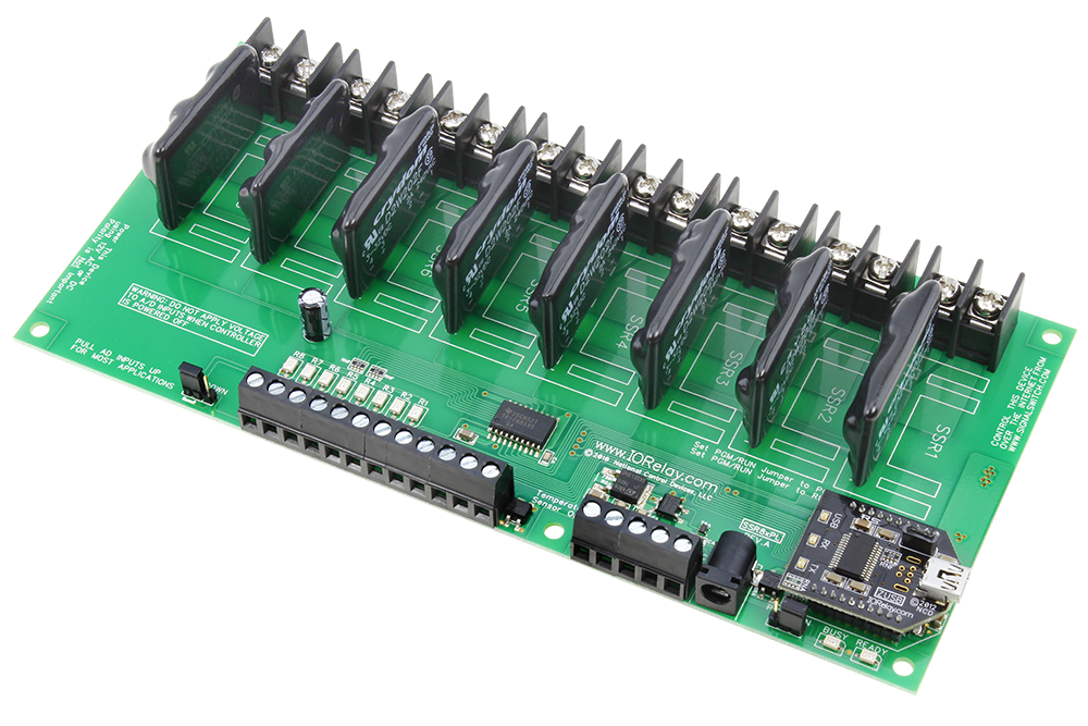 USB Relay Controller 8-Channel Solid State Relays