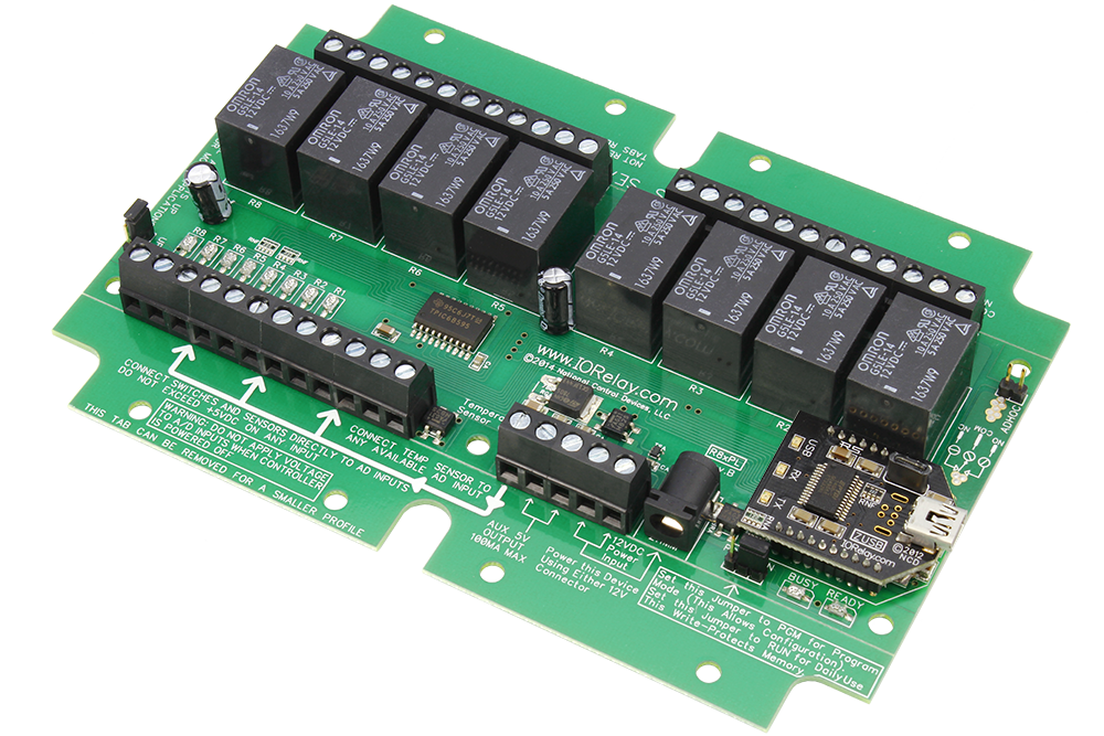 USB Relay Controller 8-Channel with ADC