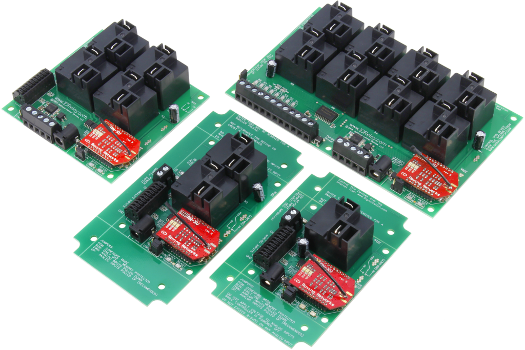 WiFi High Current Relay Controllers