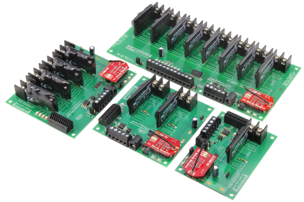 WiFi Solid-State Relay Controllers