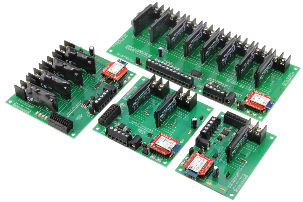 Bluetooth Solid State Relay Controllers