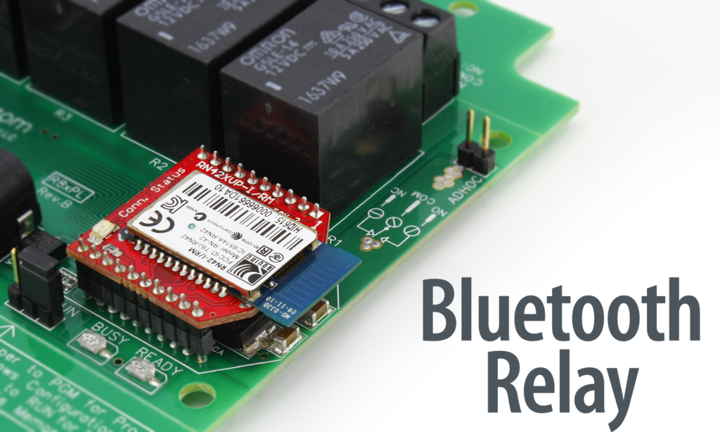 Bluetooth Relay Controllers