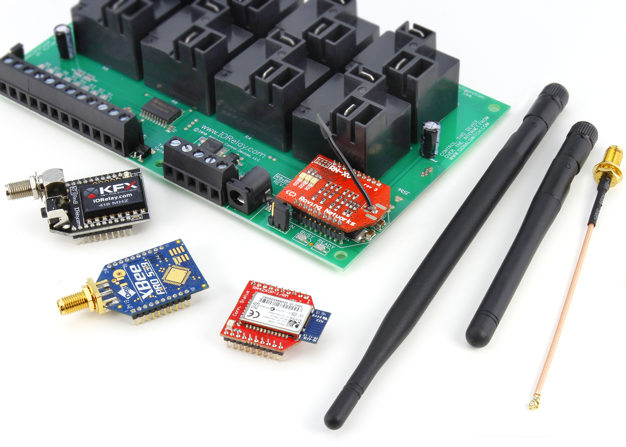 Wireless Relay Reliable Boards With Expansion Options Control Circuit Relays