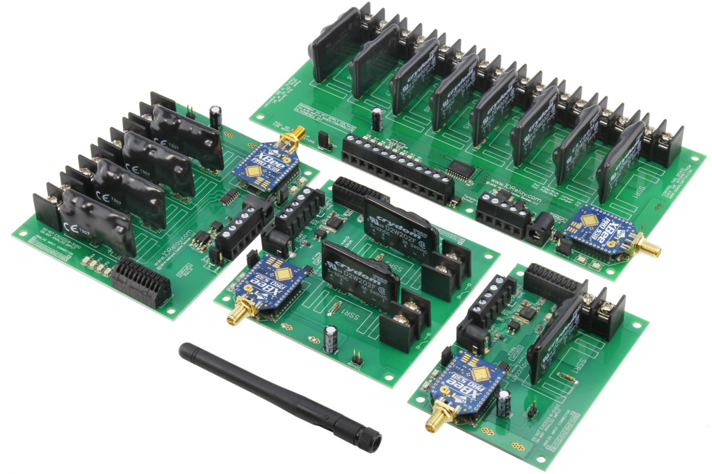 long range wireless solid state relay controllers