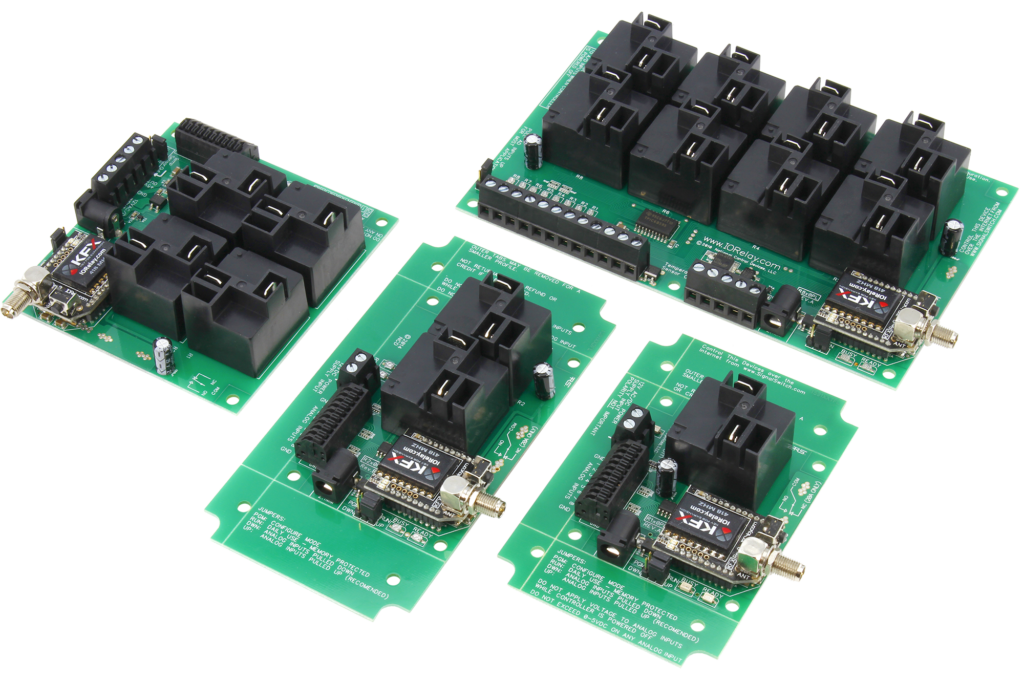 High Power Key Fob Relay Controllers