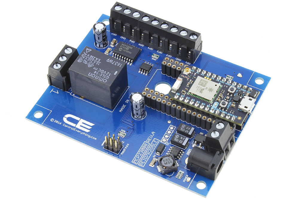 WiFi Relay Cloud Controlled 1-Channel SPDT with 7-Channel GPIO