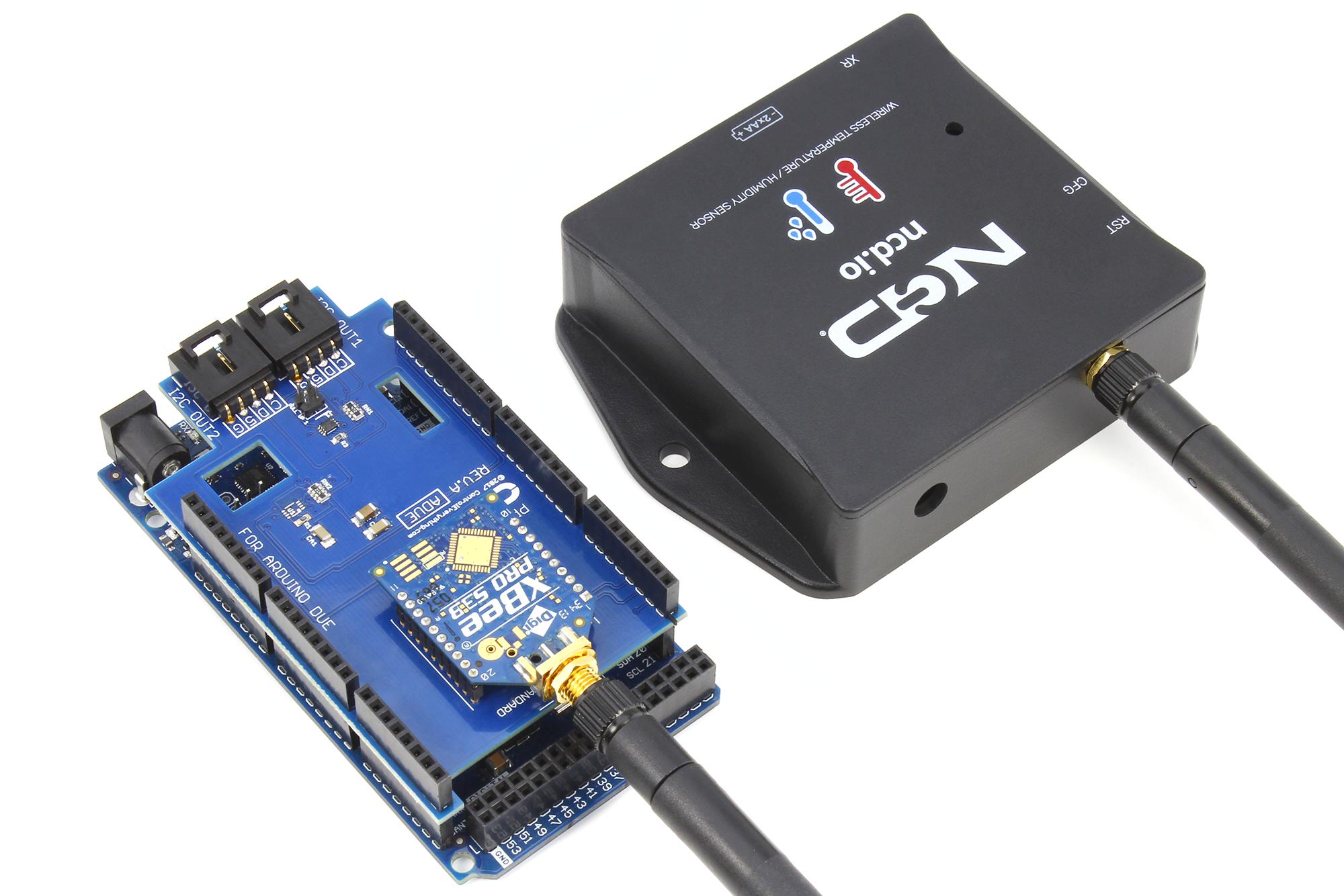 Iot arduino wireless temperature humidity sensor ncd