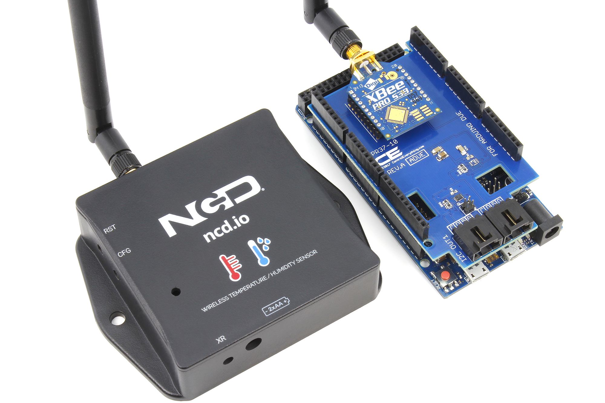 IoT Arduino Wireless Temperature Humidity sensor - ncd io