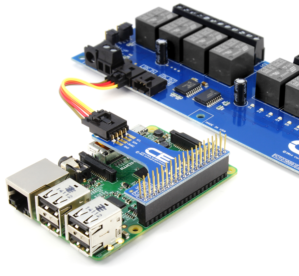 Raspberry Pi Relays - Plug and Play for Rapid Development