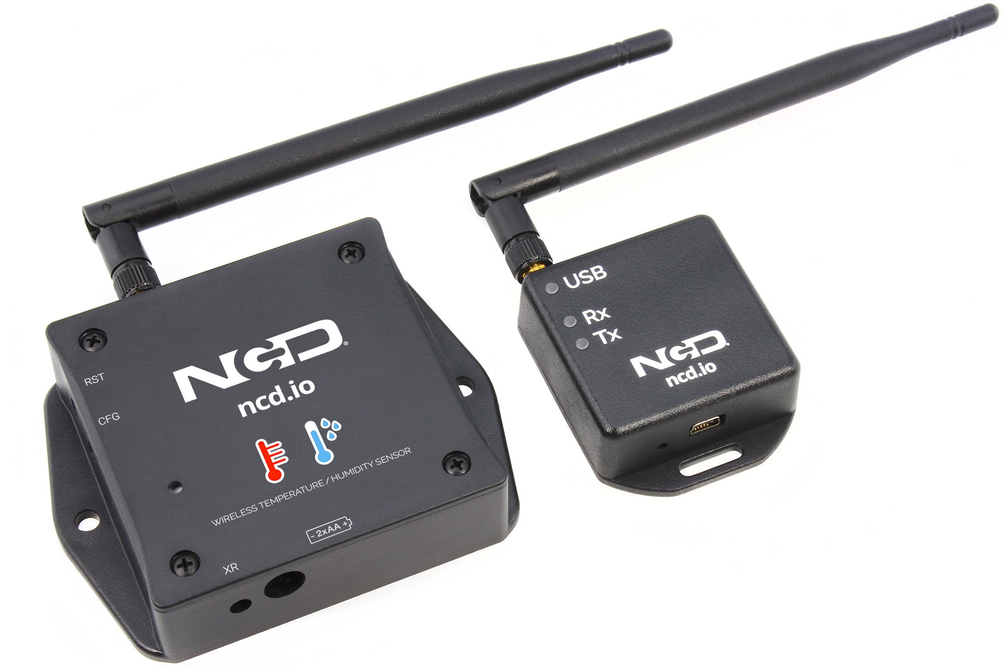 IoT wireless temperature humidity sensor product