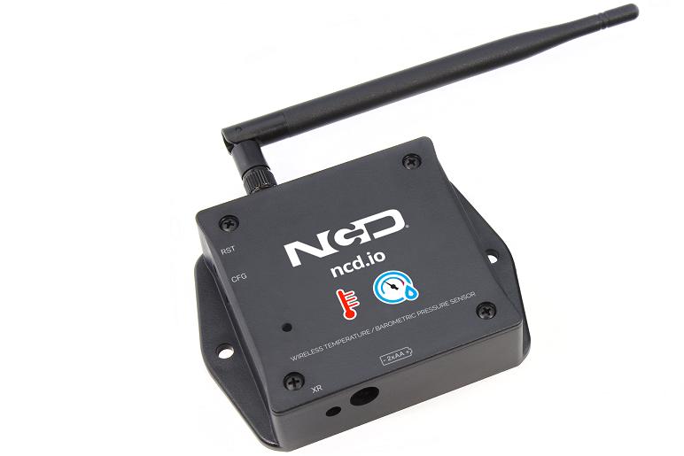 Long Range IoT Wireless Temperature Barometric Pressure Sensor Getting Started