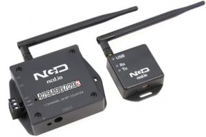 1 channel wireless digital mechanical counter