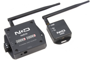 2 channel wireless digital mechanical counter
