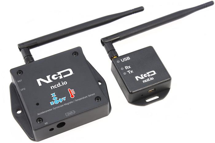 Wireless Accelereo Gyro Magneto Sensor