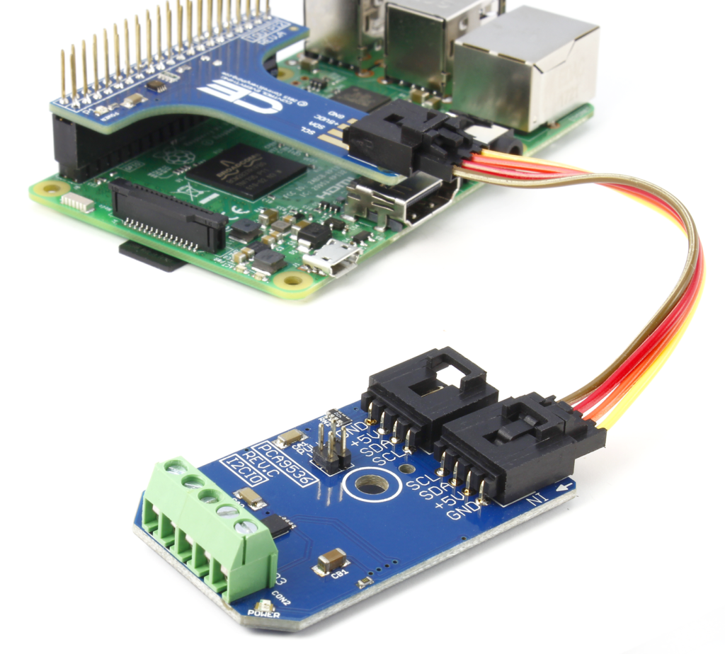 PCA9536 and Raspberry Pi
