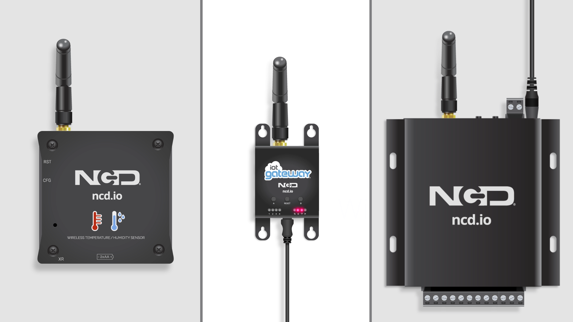 NCD Wireless Sensor Configuration Commands