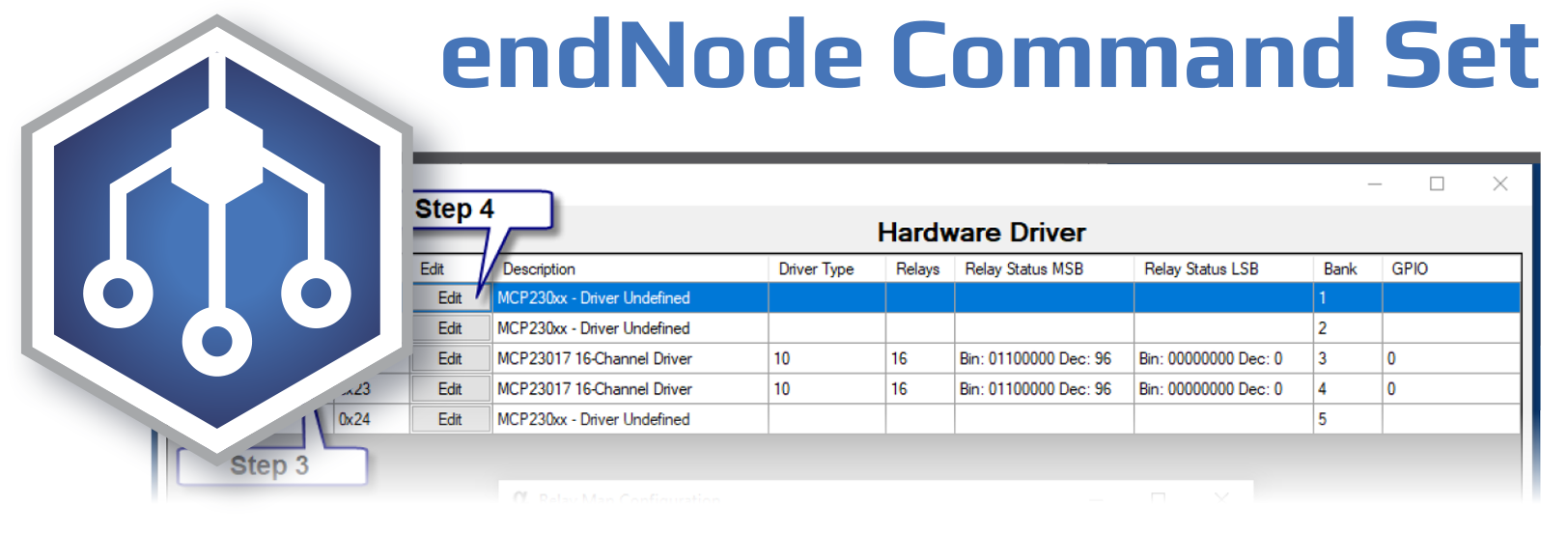 endNode Command Set – USB Wireless I2C Port