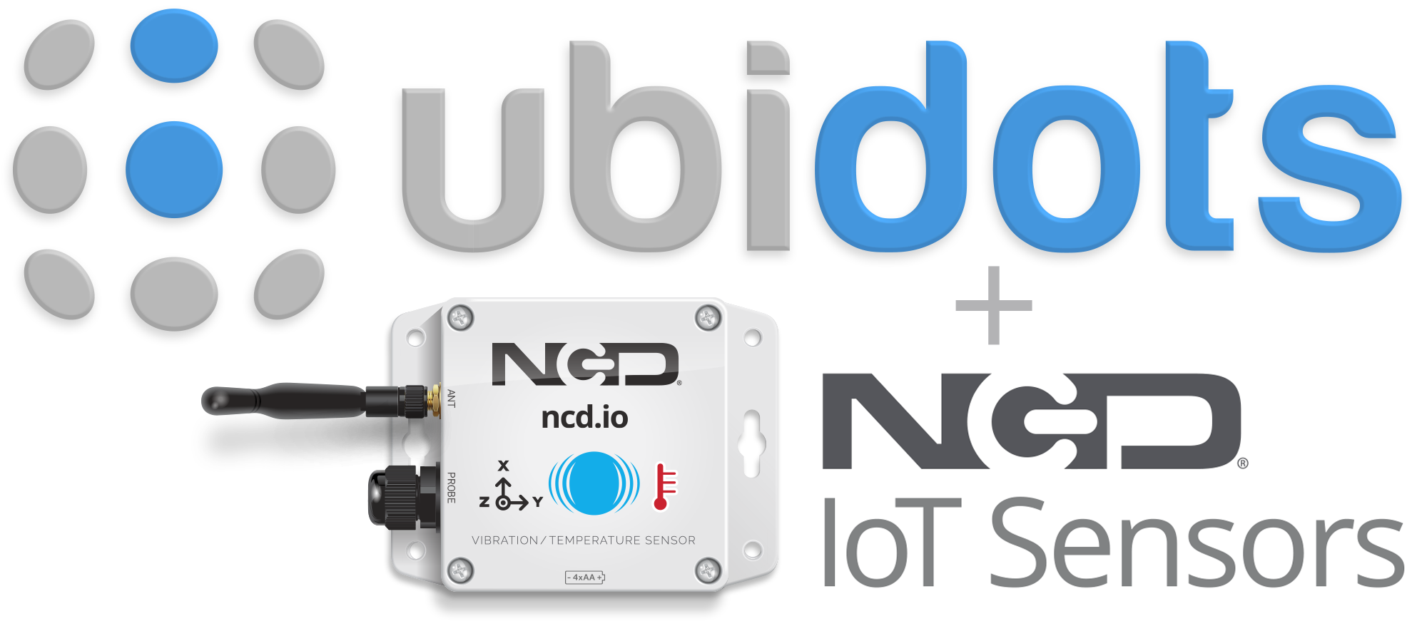 Connecting Ubidots to NCD IoT Sensors