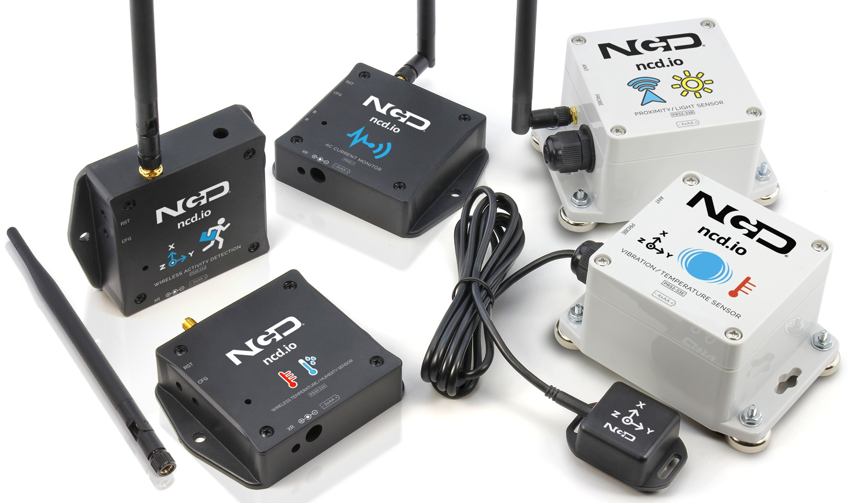 Getting Started With ncd.io IoT Wireless Sensors