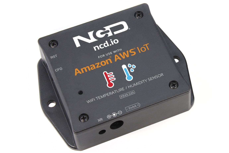 WiFi Temperature Humidity Sensor User Guide – Amazon AWS