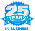 24 Years in Business