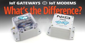 Gateway vs Modem