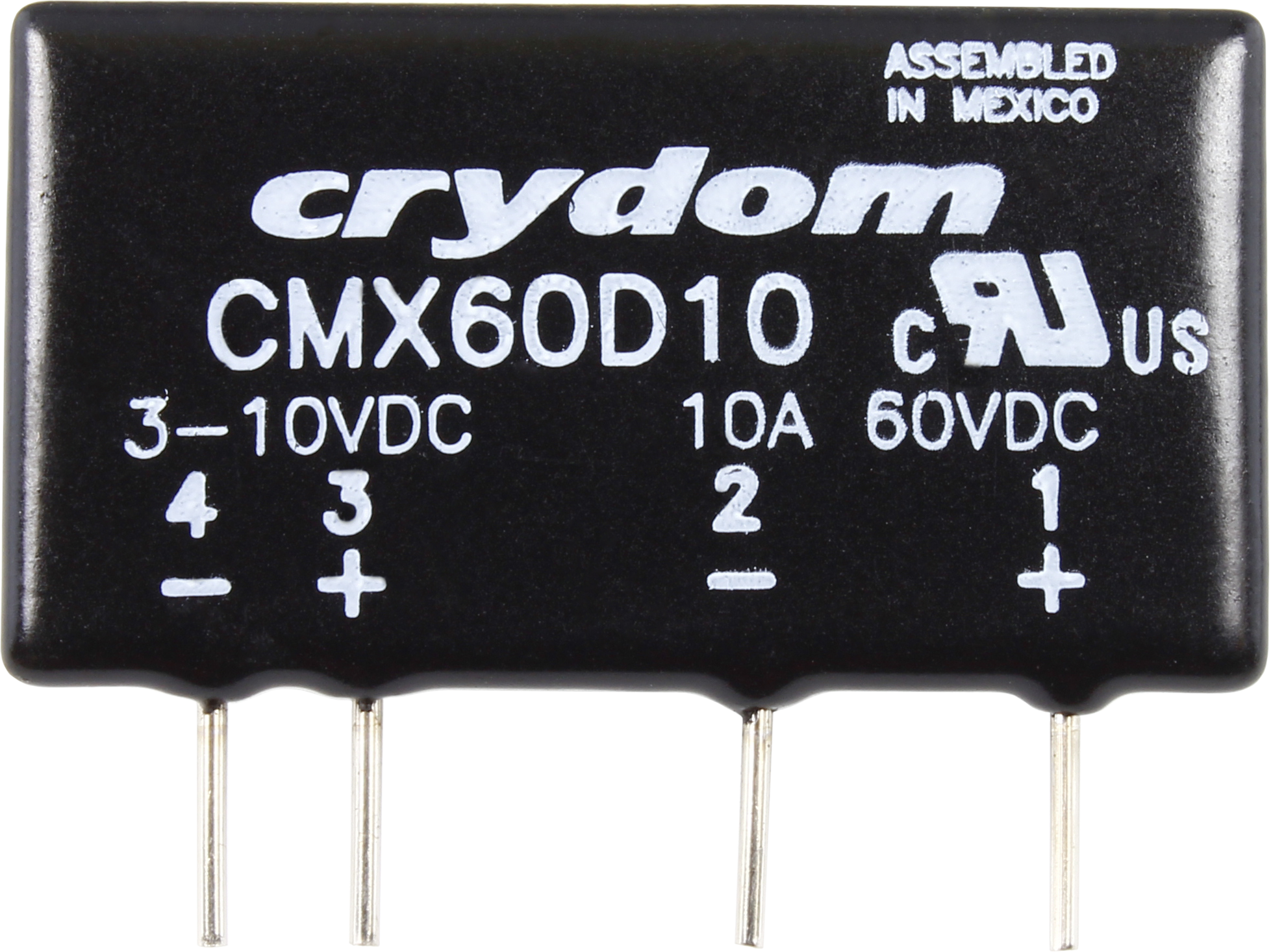 Crydom Cmx60d10 10a60vdc Dc Solid State Relay Requires Forced Air Basic Relays Please
