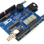 Arduino Uno Buzzer Key Fob Receiver XBee I2C Shield