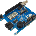 Key Fob Receiver Arduino Uno LED Display XBee I2C Shield