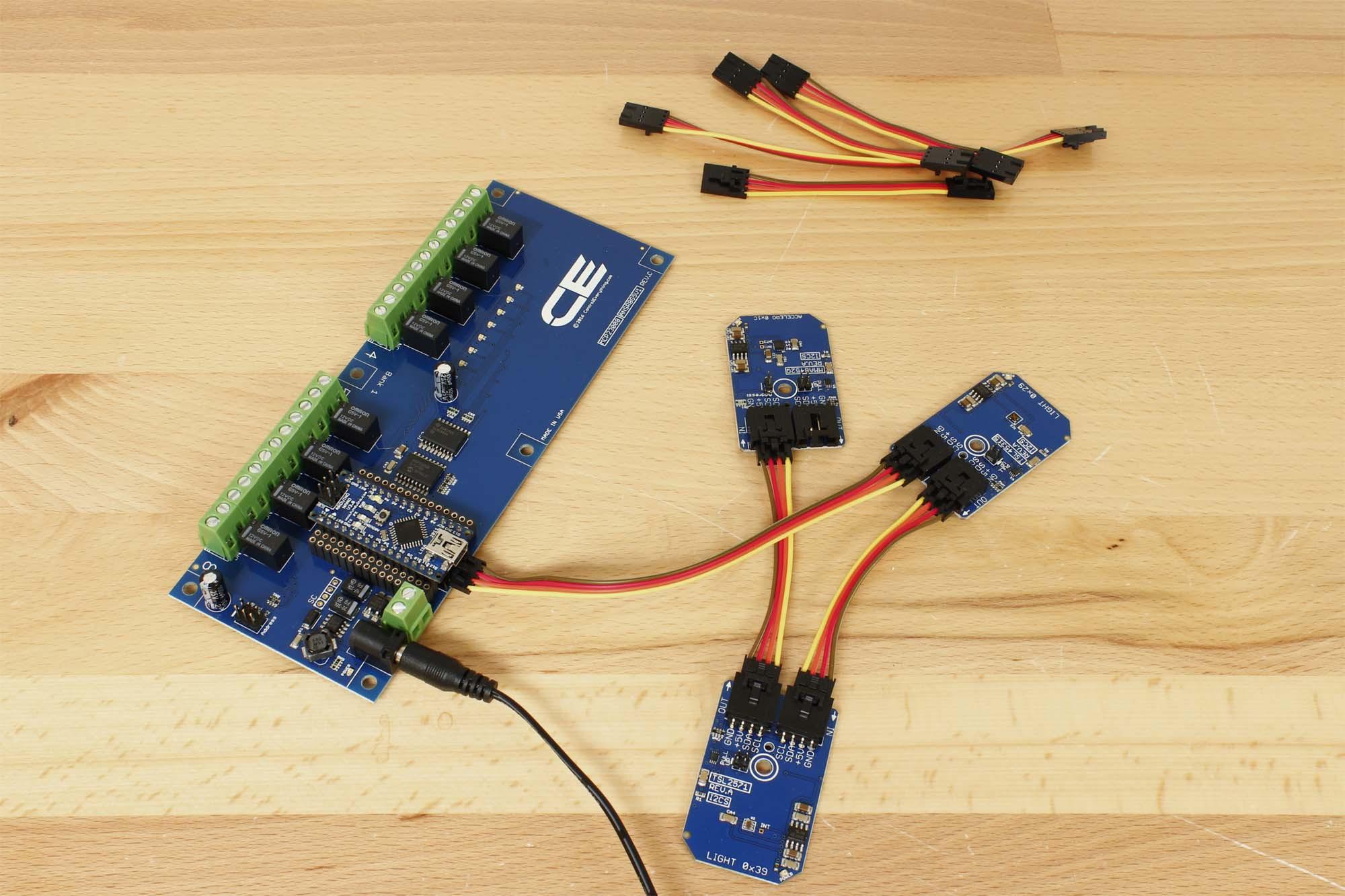LTR-303 I2C Ambient Light Sensor Breakout Board