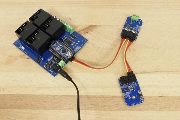 TSL2561 Light-to-Digital Converter 16-Bit Programmable Gain I2C Mini Module