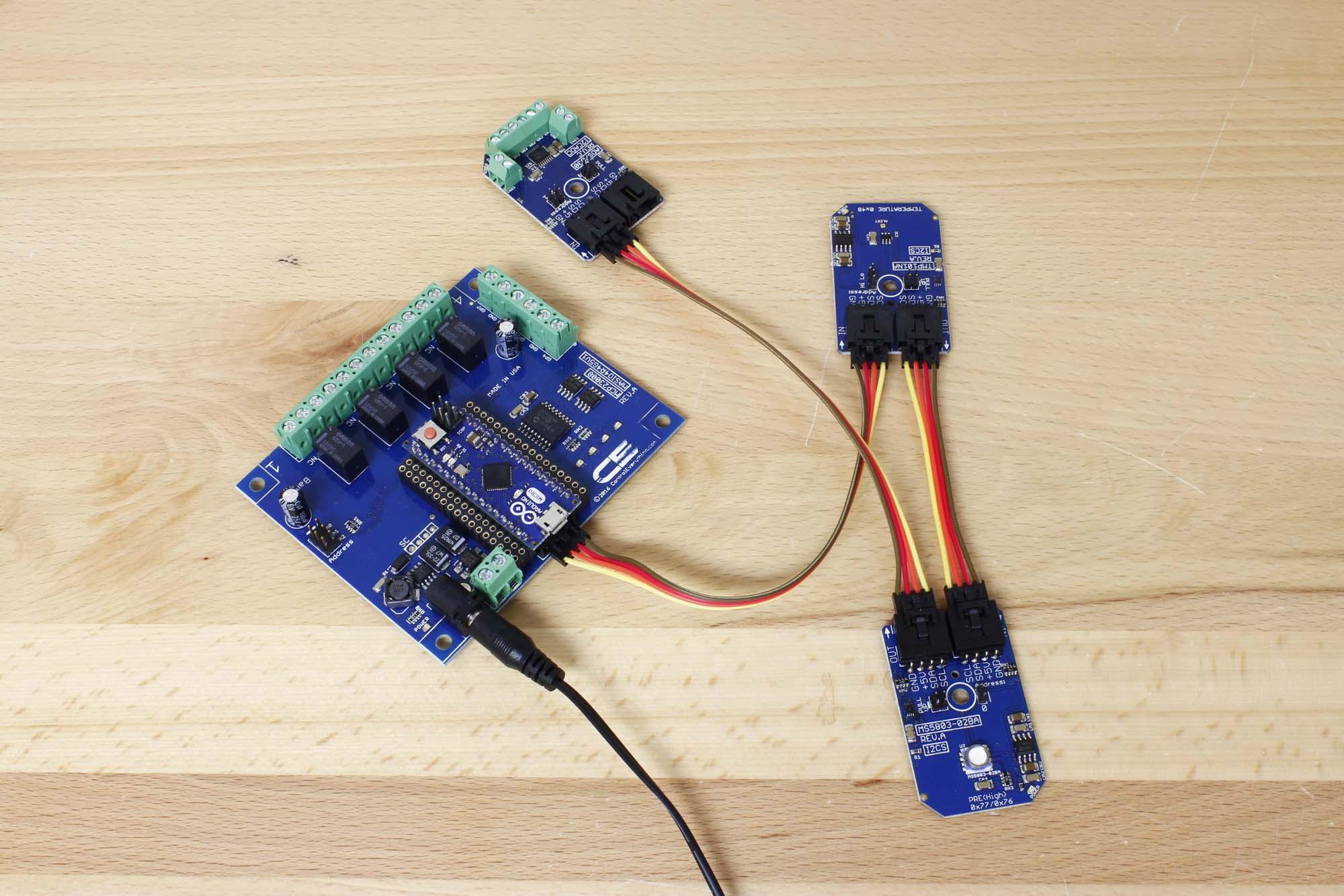Tmp101 Digital Temperature Sensor With Alert Function I2c Mini Arduino Micro Relay Shield Pressure Potentiometer