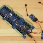 Color Sensor and Arduino Micro 32-Channel Relay Shield
