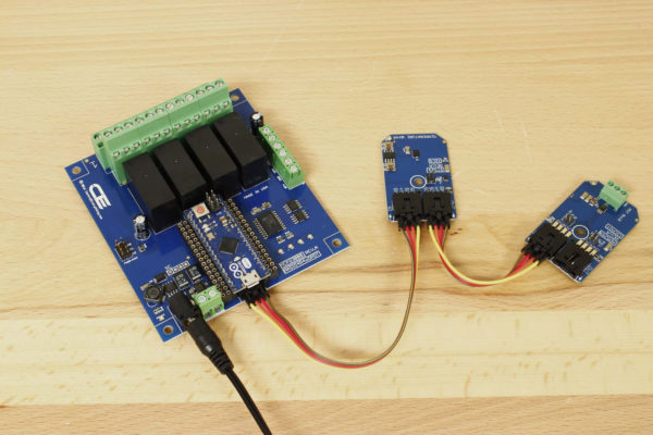 STS21 Arduino Weather Kit With Arduino Relay Shield